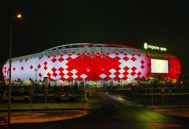 открытие арена стадион спартак